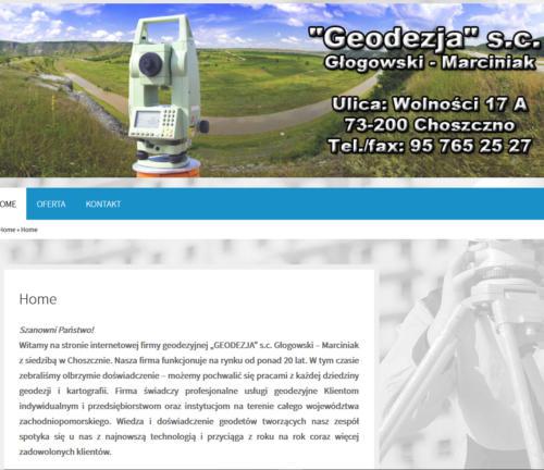 geochoszczno